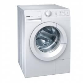 Bedienungshandbuch Gorenje Waschmaschine W 6202