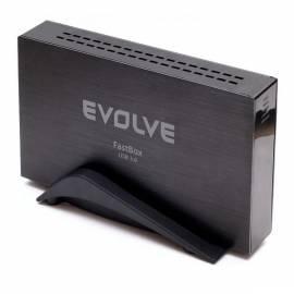 Zubehör EVOLVE 3,5 '' SATA Gehäuse USB 3.0 FastBox Bedienungsanleitung