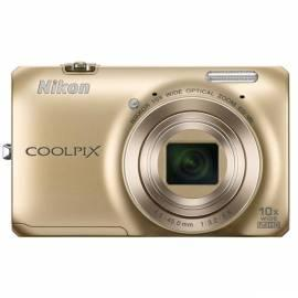 Digitalkamera Nikon Coolpix S6300-gold