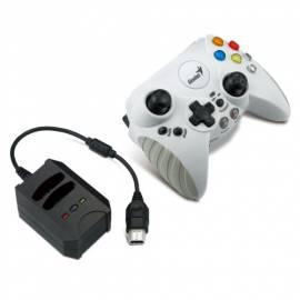 Gamepad Genius wireless Brand X, Turbo + Makro pro XBox Gebrauchsanweisung