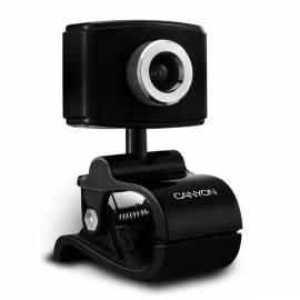 Bedienungsanleitung für Webcamera CANYON WCAM02B schwarz, 1.3mpx, Eco-Green Serie