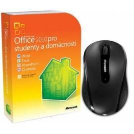 Software Microsoft Office Home and Student 2010 32 - Bit/X 64 DVD + Maus Bedienungsanleitung