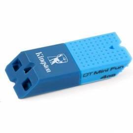 Bedienungsanleitung für USB Stick Kingston 4 GB DataTraveler Mini Fun Gen 2-modry