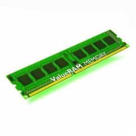 Datasheet RAM Kingston 2GB 1333MHz DDR3 CL9 DIMM 256 x 8 Single Rank, chipy