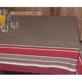 Bedienungsanleitung für Tischdecke HD Home Design (B10230), Braun/Streifen