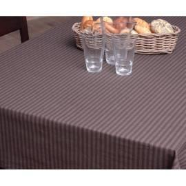 Tischdecke HD Home Design (B10560), Braun/Streifen Gebrauchsanweisung