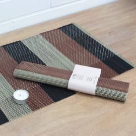 Tischsets-2 Stück im Paket HD Home Design (B12582), überprüft-braun/schwarz/grau Bedienungsanleitung