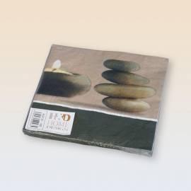 Handbuch für Servietten, Papier HD Home Design (A02120), das Muster der Steine