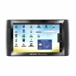 Archos 70 it2 Tablet 8GB, 7 & schwarz Gebrauchsanweisung