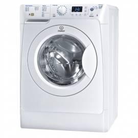 Waschmaschine/Trockner Indesit PWDE 81473 W (USA) Bedienungsanleitung