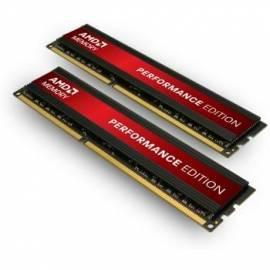 Datasheet RAM AMD DIMM DDR3 4GB 1333MHz CL8 Performance Edition (KIT 2 x 2 GB)