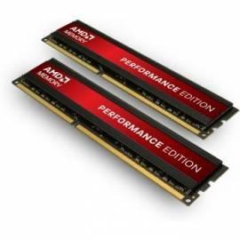 Bedienungshandbuch RAM AMD DIMM DDR3 8GB 1333MHz CL8 Performance Edition (KIT 2x4GB)