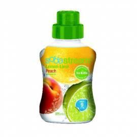 Sirup Sirup SodaStream Zitrone mit Pfirsich 375 ml LE Gebrauchsanweisung