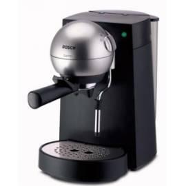 TCA4101 BOSCH Barino Espresso schwarz/silber - Anleitung