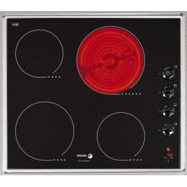 Benutzerhandbuch für Keramik Glas Kochfläche FAGOR VFI-400 und Edelstahl/Glas