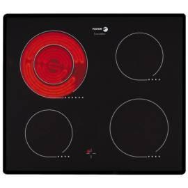 Bedienungshandbuch Keramik Glas Kochfläche FAGOR 2VFP-320T mit schwarz/Glas