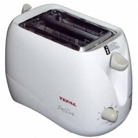 Bedienungsanleitung für Delphine 539646 weiß TEFAL Toaster