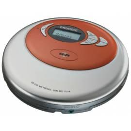 Discman Grundig CDP 5100 SPCD, s MP3 Gebrauchsanweisung