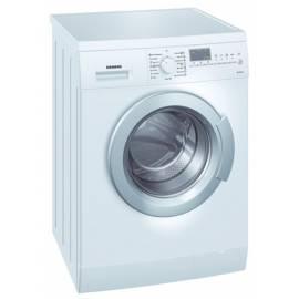 die Waschmaschine SIEMENS WS 12 X 461 BY - Anleitung