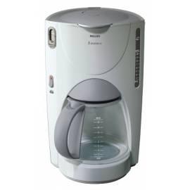 Bedienungshandbuch Kaffeemaschine Philips HD 7624 Essenz whitegrey