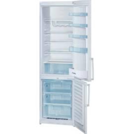 Bedienungsanleitung für Kombination Kühlschrank mit Gefrierfach BOSCH KGV39X00