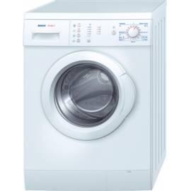 Bedienungshandbuch Waschmaschine Bosch WAE 16160BY vorne Leistung