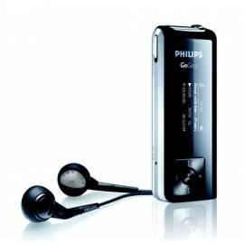 Bedienungshandbuch MP3-Player Philips SA1330, 1GB