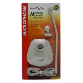 Bedienungsanleitung für Desktop Mikrofon GENIUS MIC-01A weiß (31700028100) weiß