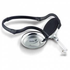 Headset GENIUS HS-02N (31700033100) Silber Bedienungsanleitung
