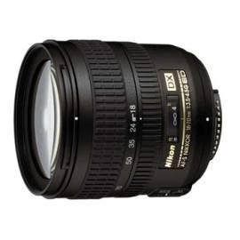 Objektiv Nikon 18-70 mm F3. 5-4 AF-S DX Zoom-Nikkor ED - Anleitung