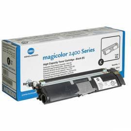 Bedienungsanleitung für KONICA MINOLTA Toner für MC24xx/25xx (A00W432) schwarz