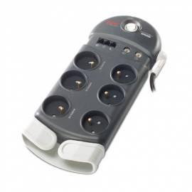 Bedienungshandbuch APC SurgeArrest Überspannungsschutz PH6VT3-FR Protector schwarz
