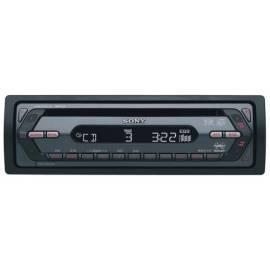 Autoradio Sony CDX-S2250 CD/MP3, schwarz Gebrauchsanweisung