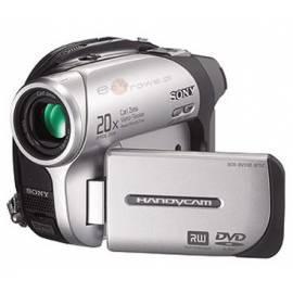 Videokamera SONY DCR-DVD92E Bedienungsanleitung