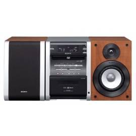 Sony CMT-DV2D-Mikrosystem mit DVD-playersm - Anleitung