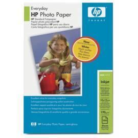 Benutzerhandbuch für Papier HP Everyday Fotopapier, Q5441A, 10 cm x 15 cm, 100 Blatt, 170 g/m2