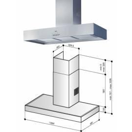 deutsche bedienungsanleitung f r dunstabzugshaube best k7083l12n edelstahl deutsche. Black Bedroom Furniture Sets. Home Design Ideas