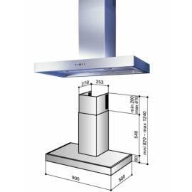 deutsche bedienungsanleitung f r dunstabzugshaube best k7088l9n edelstahl deutsche. Black Bedroom Furniture Sets. Home Design Ideas