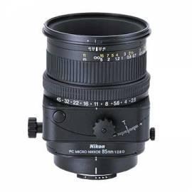 NIKON Nikkor 85 mm F2 Objektiv. 8d PC MICRO - NIKKOR Joseph Bedienungsanleitung