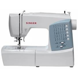Benutzerhandbuch für SINGER-Nähmaschine 7422 Cosmo weiss