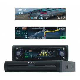 Datasheet Sony CDX-NC9950 Autoradio, CD/MP3