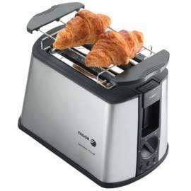 Toaster FAGOR TTE-2006 X schwarz/Edelstahl Bedienungsanleitung