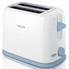 Bedienungshandbuch Toaster PHILIPS HD 2566/70 weiß/blau