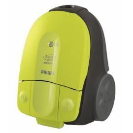 Benutzerhandbuch für Staubsauger Philips FC 8390 Auswirkungen: hellgrün