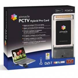 Bedienungshandbuch TV Karta PINNACLE Hybrid Pro Card 310C, PCMCIA (21915)