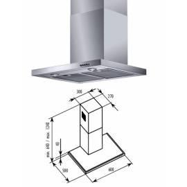 Handbuch für Dunstabzugshaube Bauknecht BT16.3SS Silber