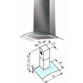 Hood Bauknecht BT 6.3 GL Silber/Glas - Anleitung