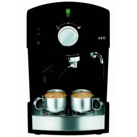 Bedienungsanleitung für Espresso AEG es 120 Creme