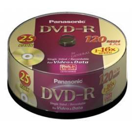 Bedienungshandbuch Ihre Aufnahmemedium ist ein PANASONIC DVD-R Disk-LM-RS120NE25