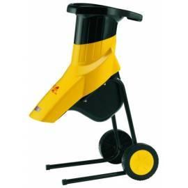 Garten-Shredder Abfall AL-KO New Tec 2400 R schwarz/gelb